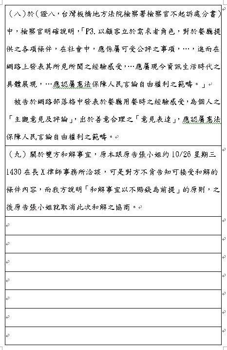 民事陳訴狀範例  - 愛淘生活