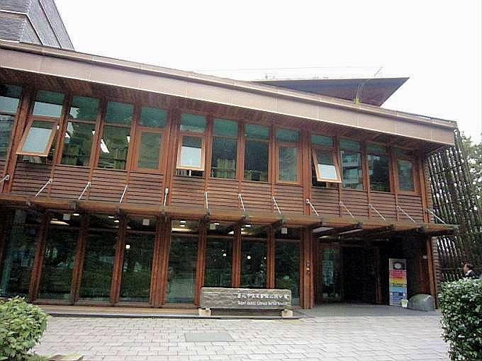 臺北市立圖書館北投分館~遠離城市喧囂的綠建築 - shine的幽美幻境 - udn部落格