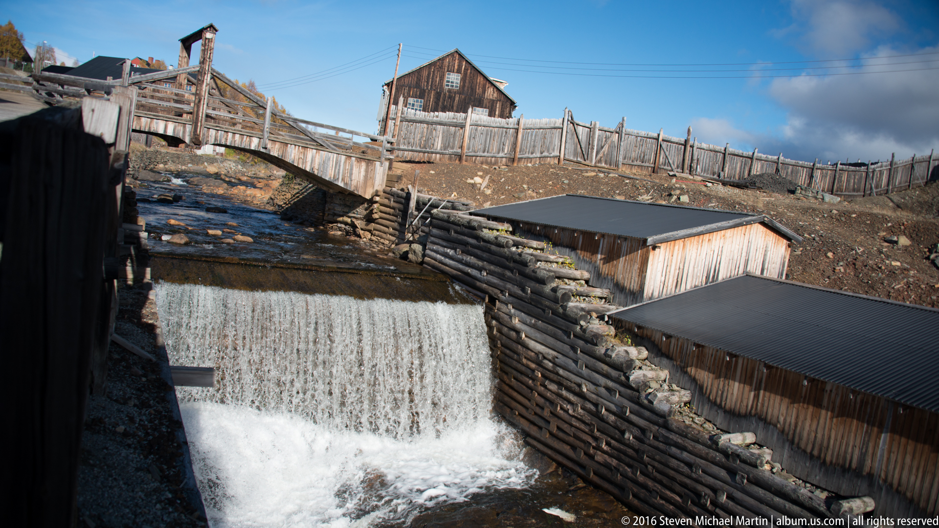Røa and Glåma Rivers in Roros by Steven Michael Martin