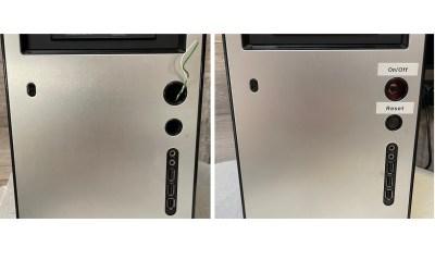 Réparation des boutons On/Off et Reste de PC (tour)