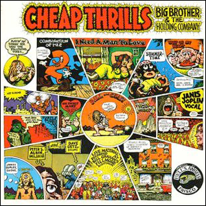 Visual Album Review: Big Brother and the Holding Company – Cheap Thrills