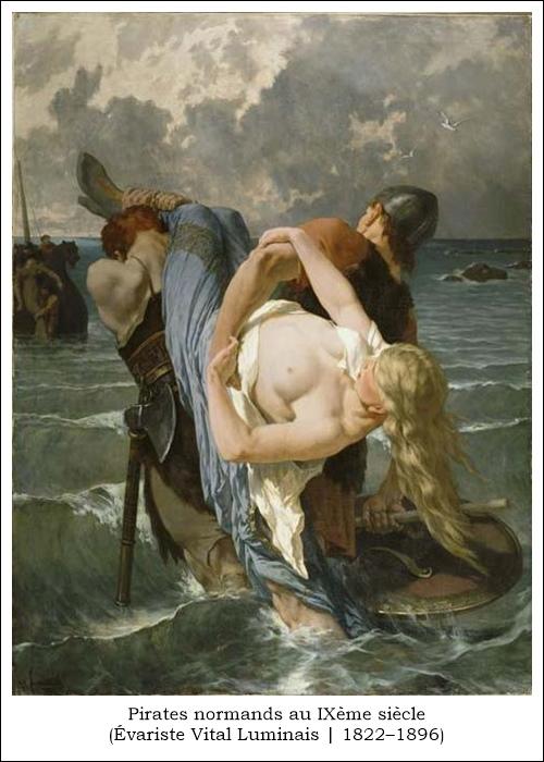 Pirates normands au IXe siècle