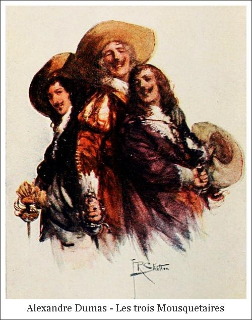 Alexandre Dumas – Les trois Mousquetaires