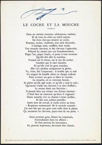 La Mouche Et Le Coche : mouche, coche, Coche, Mouche, Française