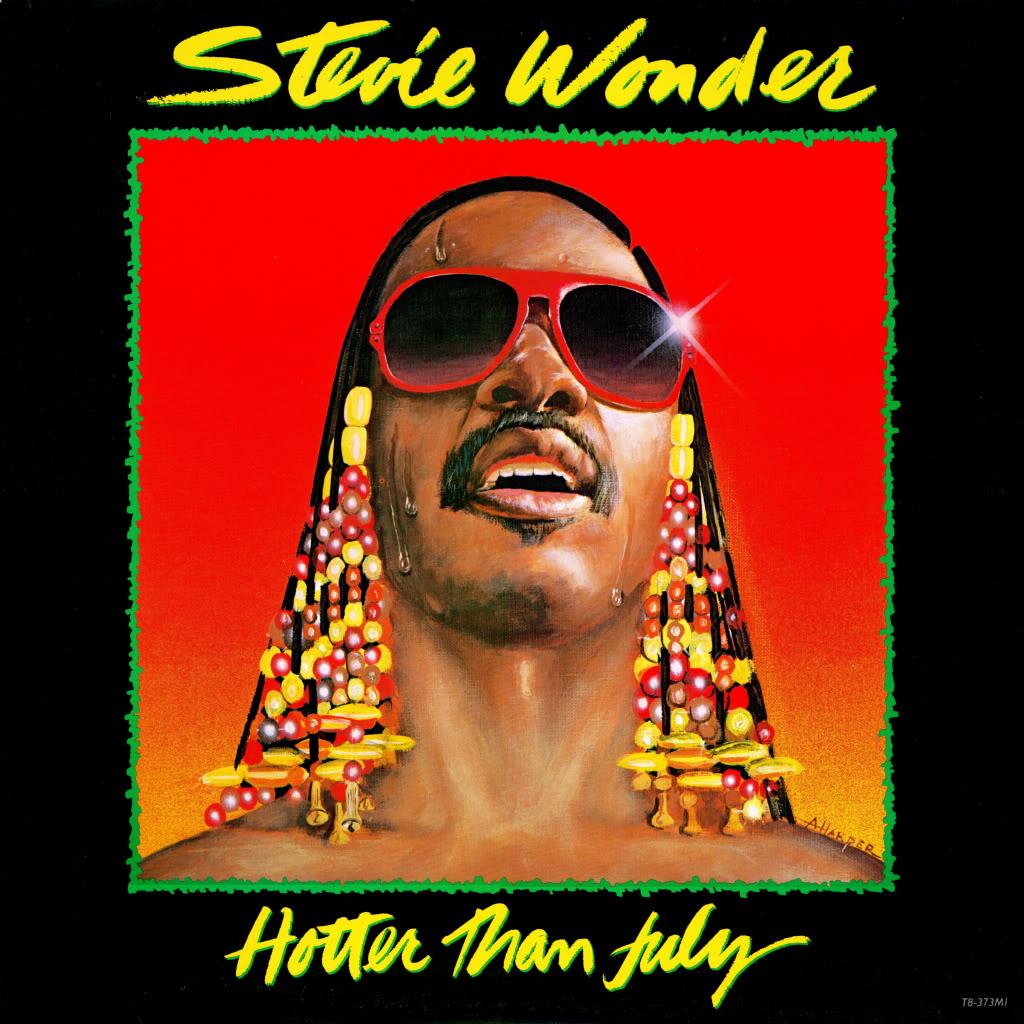 Stevie Wonder Hotter Than July