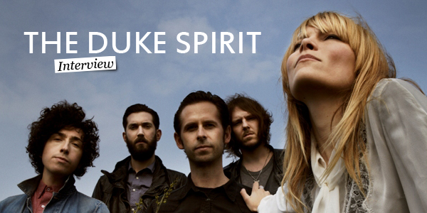 Interview The Duke Spirit  L'esprit Et Les Lettres