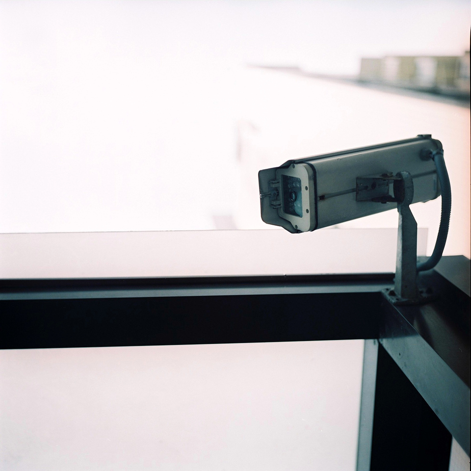 Big brother - Fuji Pro 400H shot at ISO50. Color negative film in 120 format shot as 6x6.Over exposed three stops.