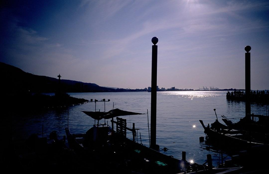 Into the light - Fuji Velvia 50 (RVP50) shot at EI 50. Color reversal (slide) film in 35mm format.