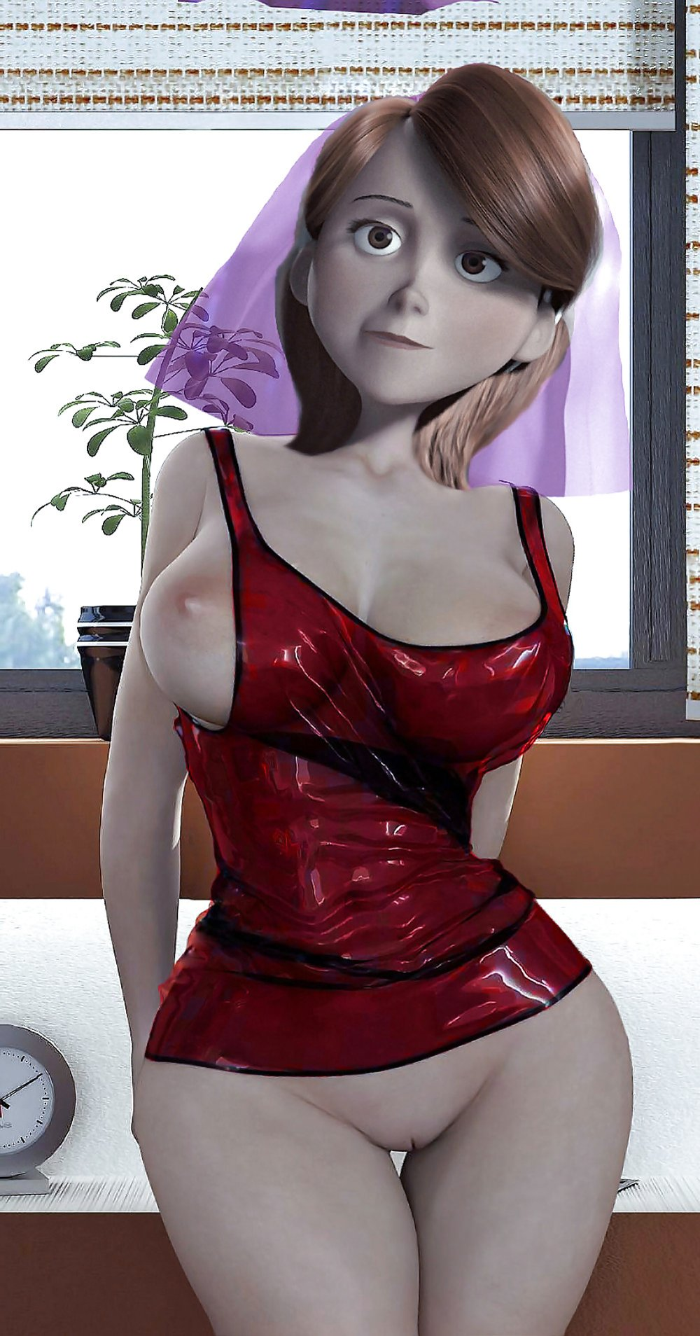 Helen Parr Biotch wifey of The Incredibles  ZB Porn