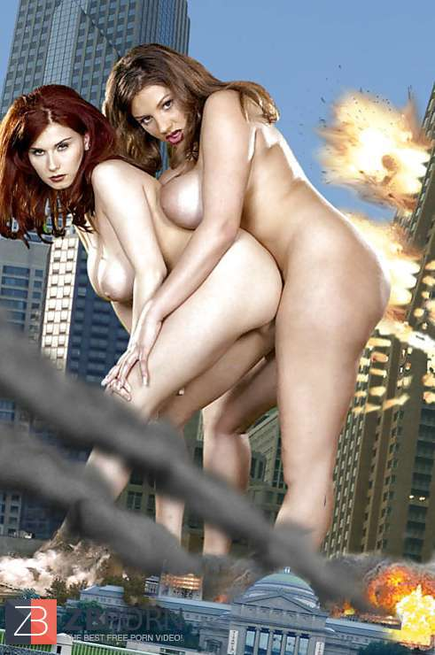 Nadine Jansen and Bettie Ballhaus are wrecking the city  ZB Porn