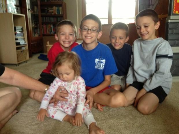 Meeting cousins!