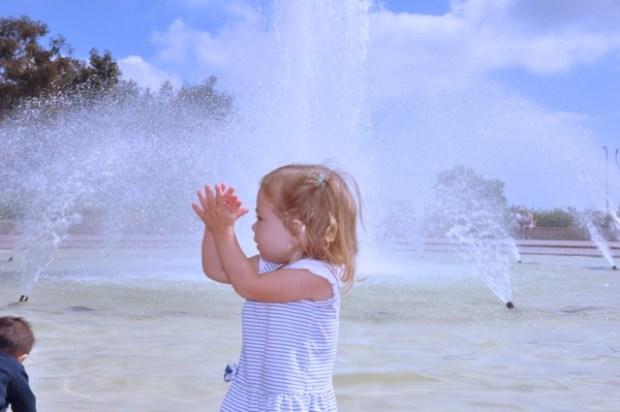 Yay fountain!