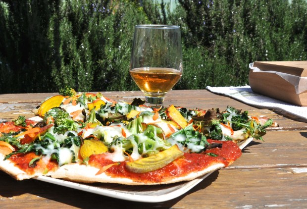 Stone Farms Garden Pizza – super declicious.