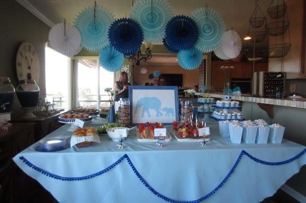 Circus Elephant Theme – Food Table