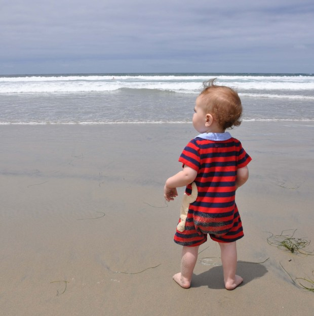 Ahhh, the serenity of the ocean...