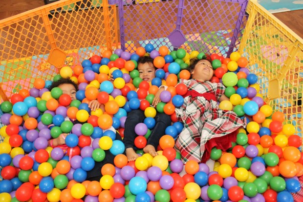 Melting in the Ball Pit!