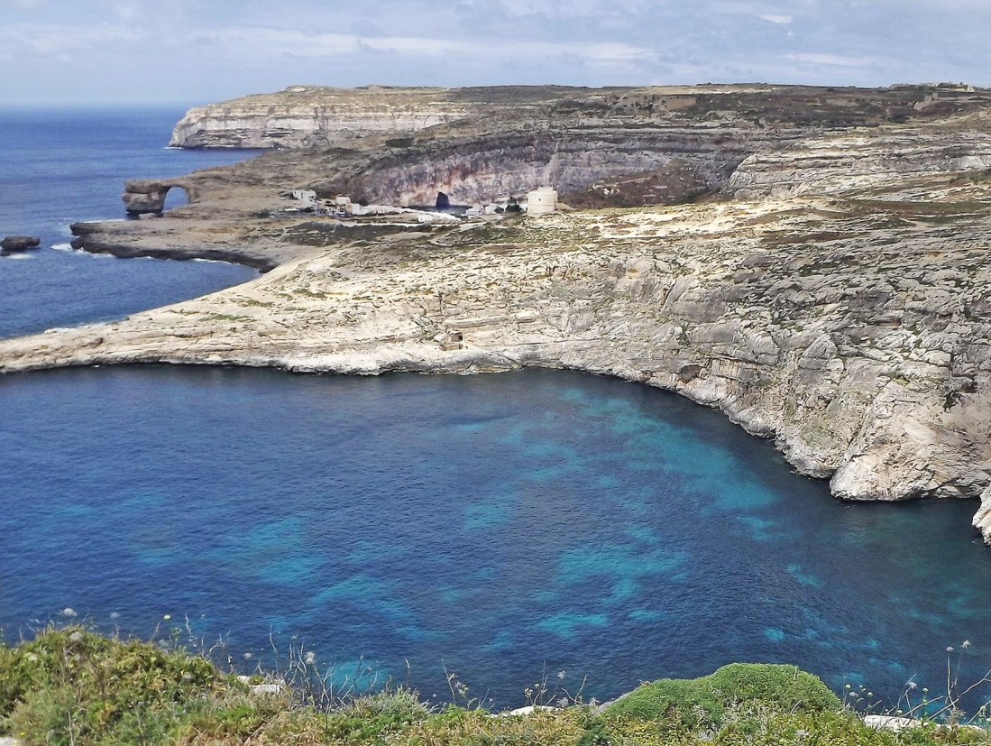 Azure Window i Inland Sea Gozo