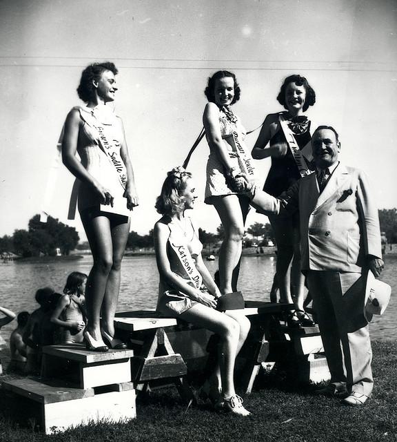 Albuquerque Historical Society - Clyde Tingley at Tingley Beach
