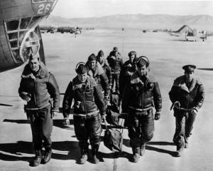 Photo of Kirtland AAF WW II Bombardier Training Crew