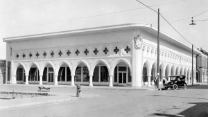 Old photo of Occidental Life Building