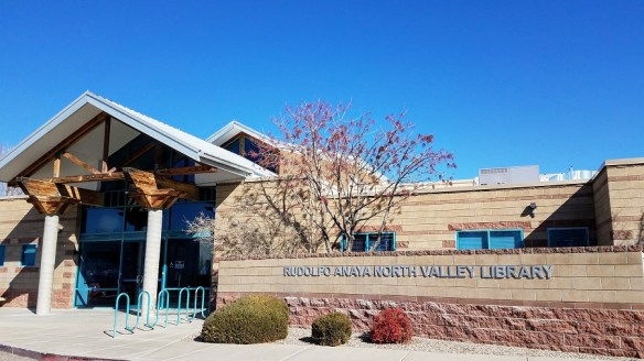 Photo of Rudolfo Anaya North Valley Library