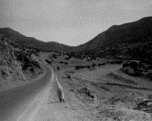 Albuquerque Historical Society - RT66 - Tijeras Canyon - 1937