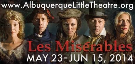 Don't Miss Les Miserables–FINAL WEEKEND!   Albuquerque