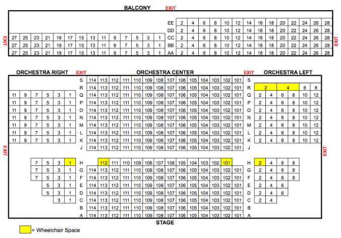 Seating Chart ALT
