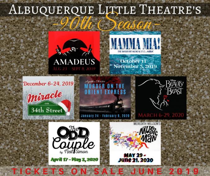 Albuquerque Little Theatre's 90th Season