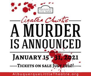 A Murder Is Announced Art
