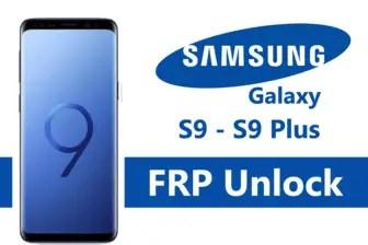 Samsung Galaxy S9 Firmware (G960F, G960U, G960W, G9600