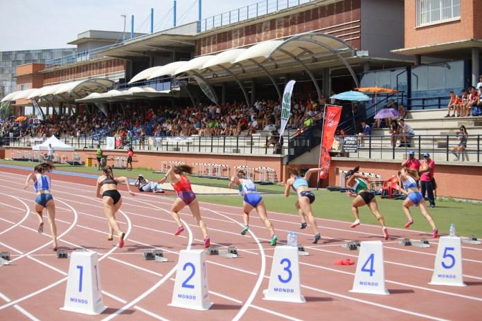100 metros femeninos