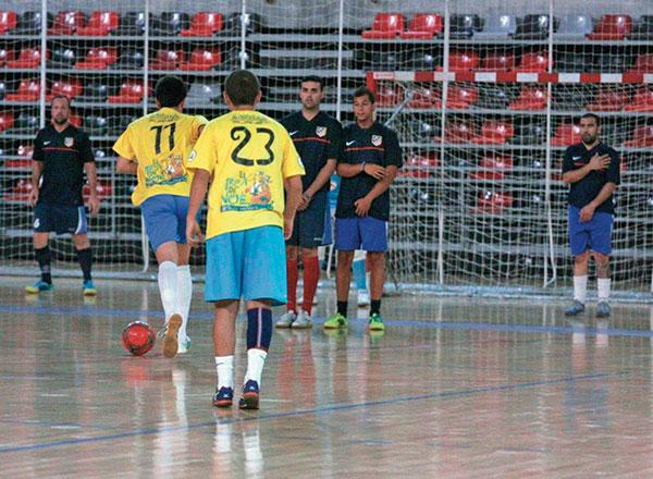 Fútbol sala Pinto