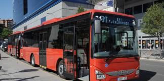 PRESENTACION NUEVOS AUTOBUSES EMT LINEA CEMENTERIO ALDEHUELA (1)