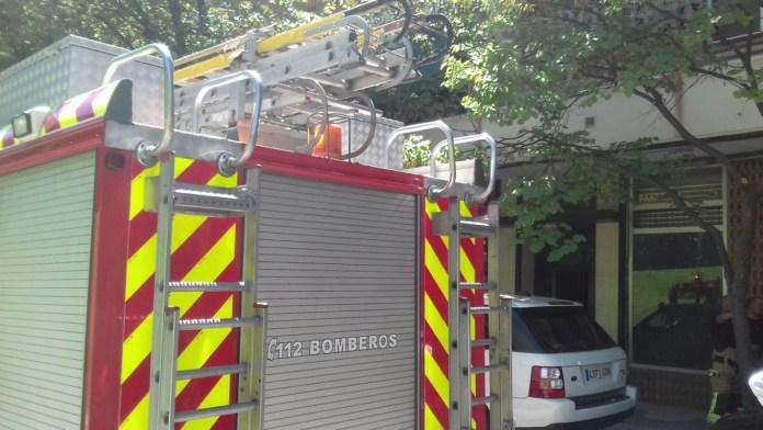 camion bomberos alcorcon