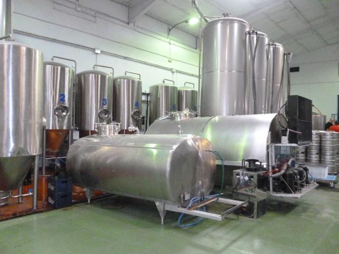 Cervezas La Cibeles tanques