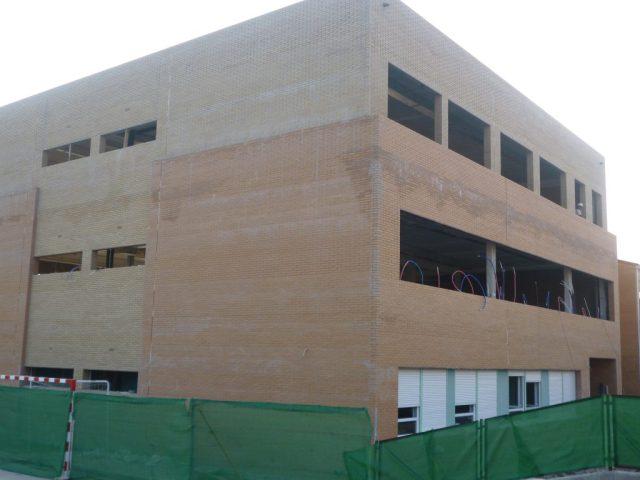 Colegio Constitucion obras Leganes