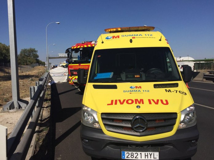 ambulancia getafe