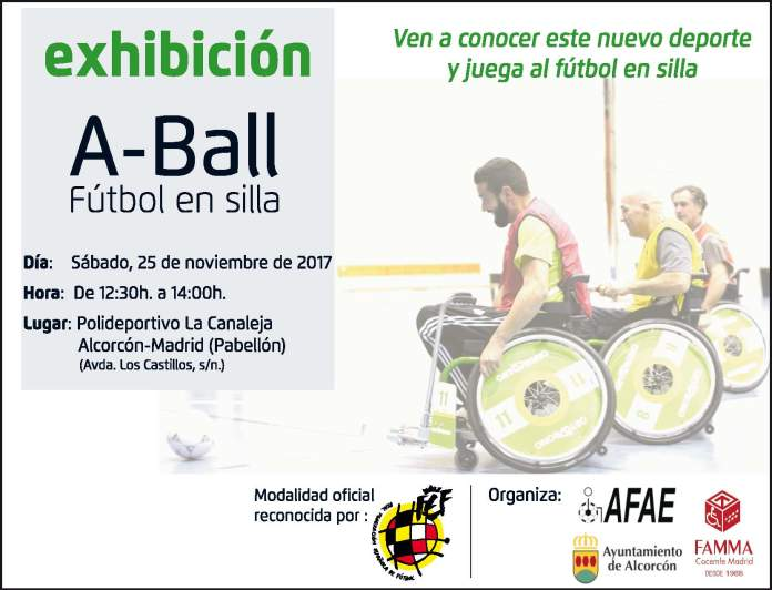Cartel A-Ball Alcorcón