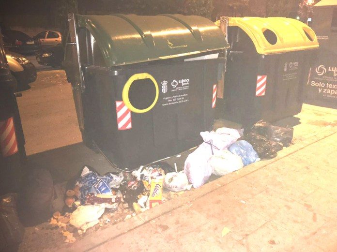 basura calle torroja