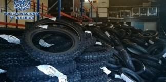Robo neumáticos