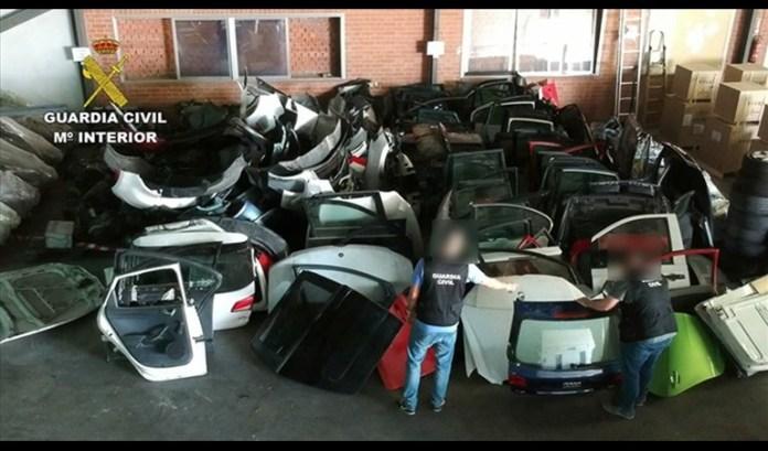 despiece vehículos Pinto
