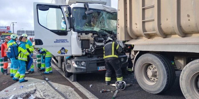 accidente multiple fuenlabrada