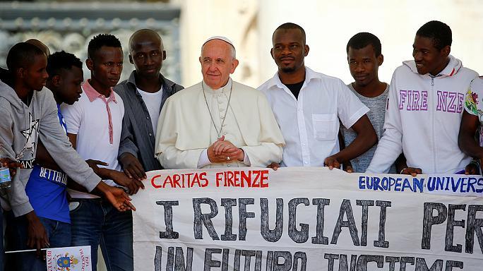 Un Papa migrante