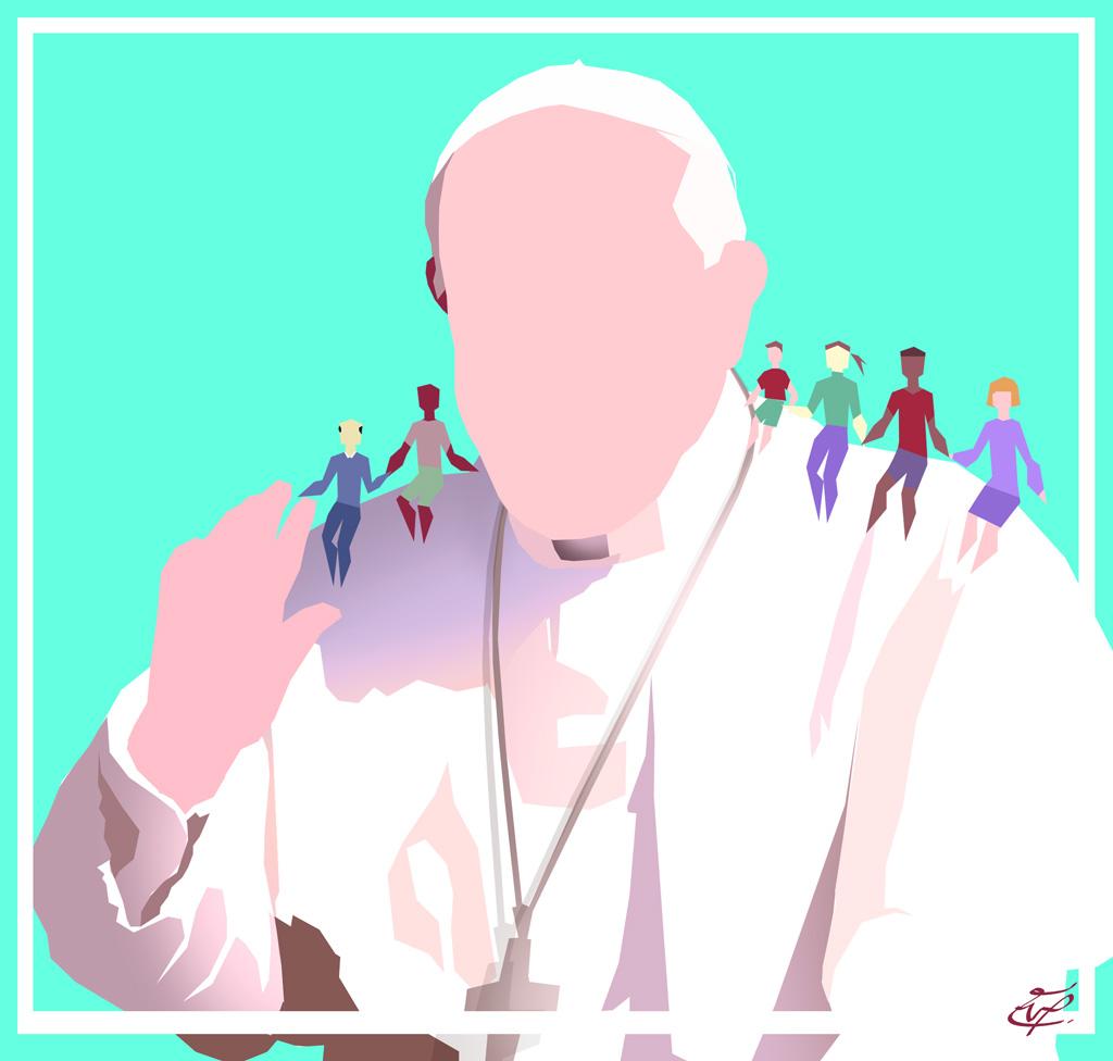 El Papa Francisco Roma
