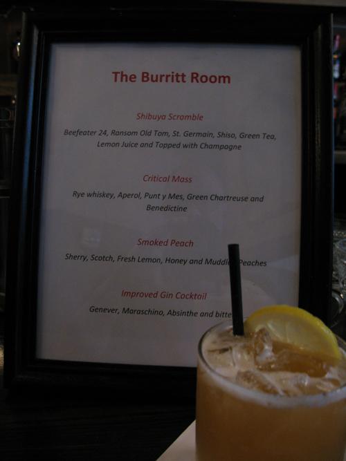 Burritt Room Bar Update  Alcademics