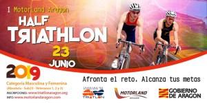 I MotorLand Aragón Half Triatlón en Alcañiz