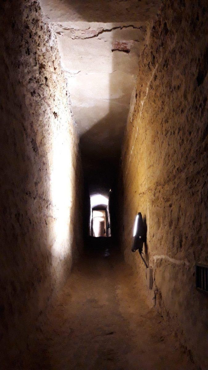 Pasadizos subterráneos