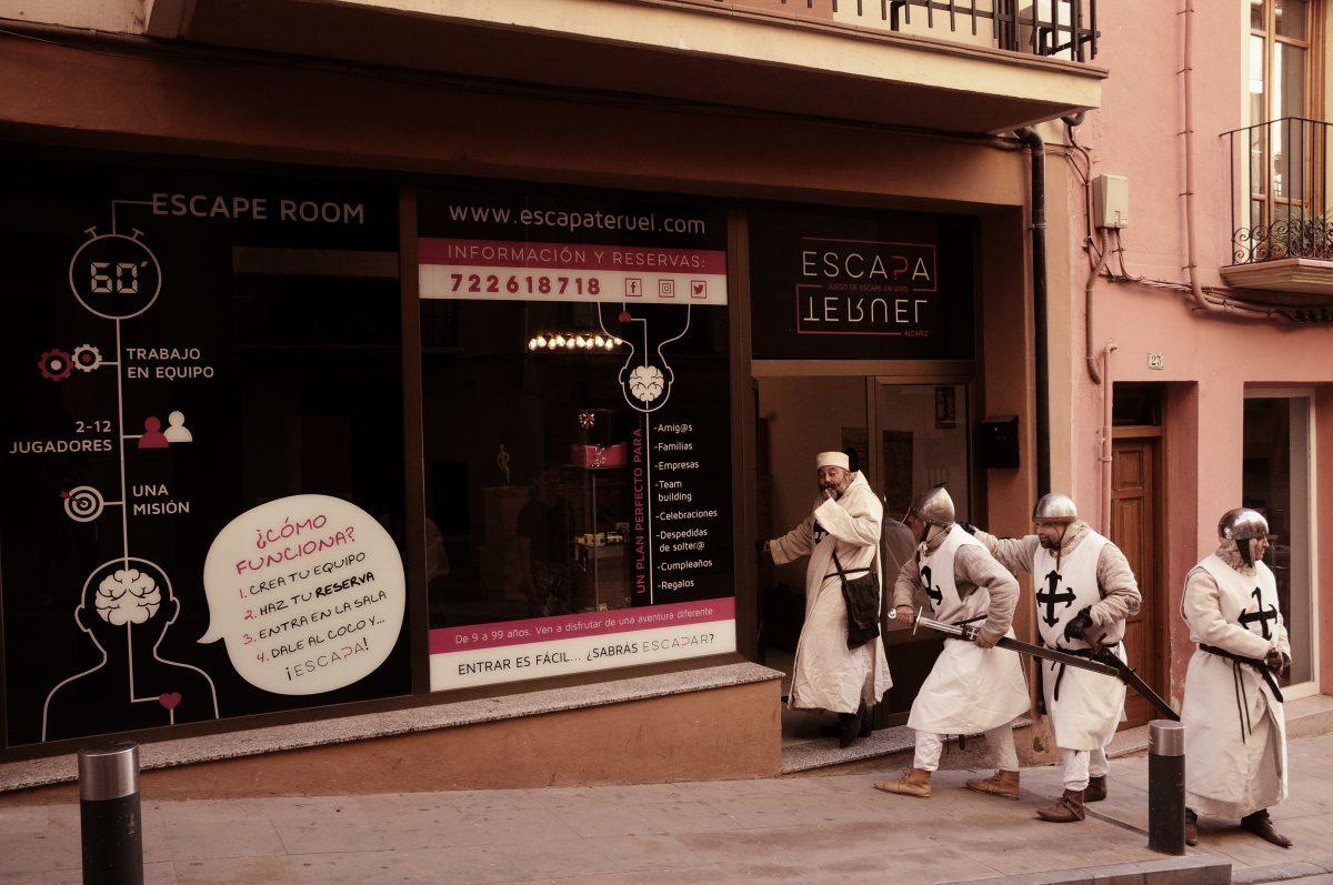 Escapa Teruel, escape room en Alcañiz