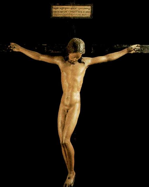 Cristo crucificado. Miguel Ángel